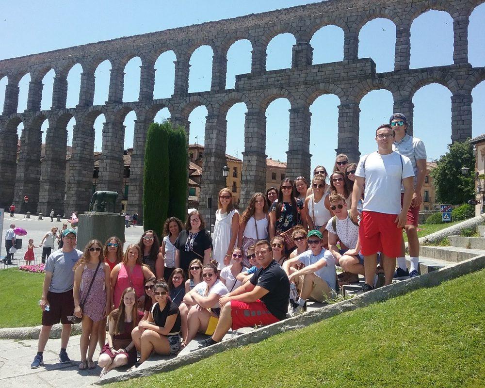 Tour of Segovia Spain